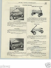 1940- 50's PAPER AD Murray Mercury Super Deluxe Radio Town Coaster Wagon Gendron