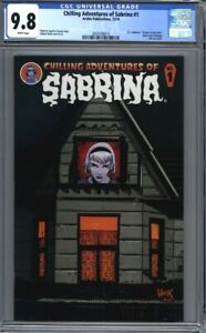 Chilling Adventures of Sabrina #1  Netflix Show Die-Cut Cover  1st Print CGC 9.8