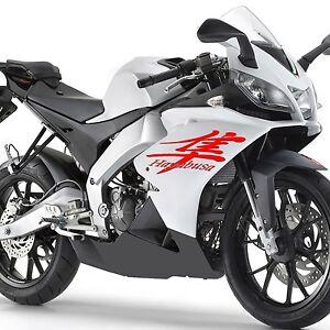 Image is loading Hayabusa-Kanji-Waterproof-Car-Motorcycle-Gas-Tank- Windshield-