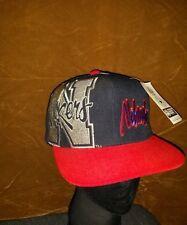 j Vintage Nebraska Hat Snapback Throwback Cornhuskers Snap Cap Mens Size OSFA