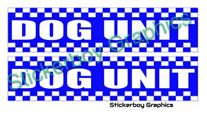 Dog Unit Magnet REFLECTIVE Battenberg Security K9 Handler UNIT Magnetic  620x150