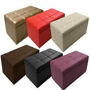Living-Storage-Ottoman-Bench-Footstools-Seat-Table-Cocktail-31-034-L-Unfold-Strong