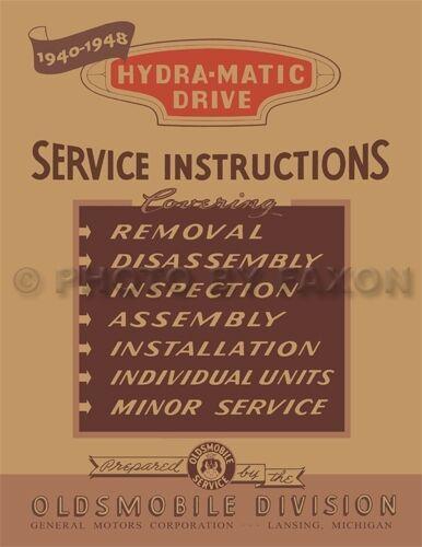 ispacegoa.com Automotive Car & Truck Manuals Olds Hydra Matic ...
