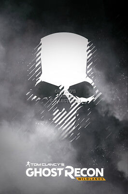 Tom Clancy/'s Ghost recon Gaming Poster Wall ArtSizes A4 to A0E071