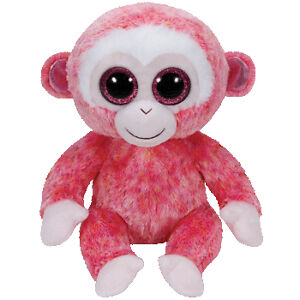 22055b0b4ac Ty Beanie Boos Ruby The Pink Monkey Boo Buddy 37010 for sale online ...