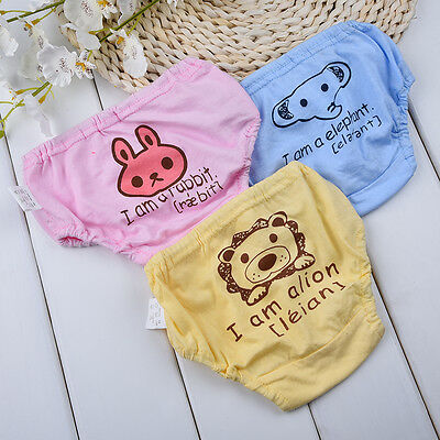 Cartoon Baby Child  Cute Pants Cloth Diaper Underwear