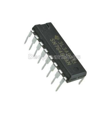5PCS Digital complex sound generator IC TI DIP-16 SN76489AN