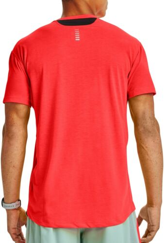 Under Armour Streaker 2.0 à manches courtes pour homme Running Top-Rouge