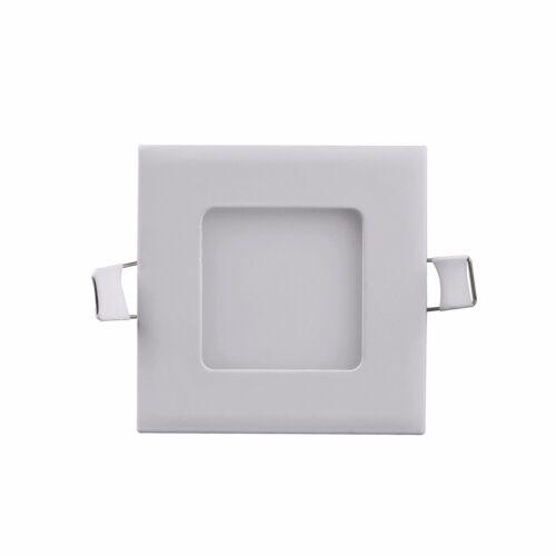 20X 6W LED Panel Einbau DeckenLeuchte Einbaustrahler Warmweiß Wandlampe Eckig