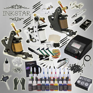 Complete Tattoo Kit Professional Inkstar 3 Machine APPRENTICE Set ...
