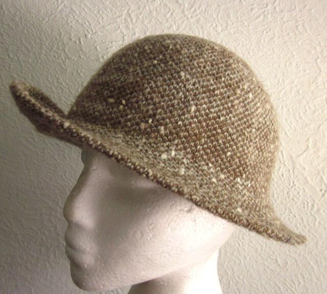 Trendy Apparel Shop Cotton Wool Blend Upbrim Porkpie Fedora Hat