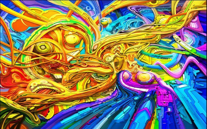 3D Graffiti Strokes 119 WallPaper Murals Wall Print Decal Wall Deco AJ WALLPAPER