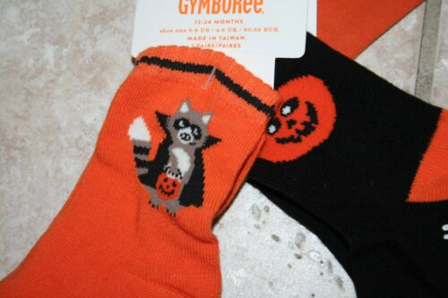 NWT Gymboree Boys Girls 12-18 Months Pumpkin Halloween One Piece /& 2 Pr Socks