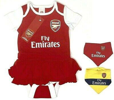 AFC Arsenal FC Baby Girls Kit Tutu 2019//20 Season 3-6 Months
