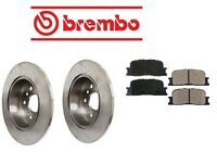 Toyota Highlander 01-8/03 Brake Kit Rear Brake Rotors With Pads Brembo on sale