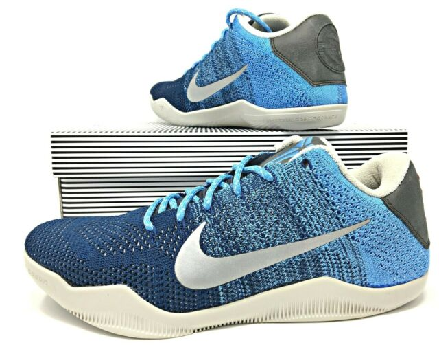 brand new 703ef 7afe1 Nike Kobe 11 XI Elite Low Size 10 Brave Blue Mens Basketball Shoe 822675-404