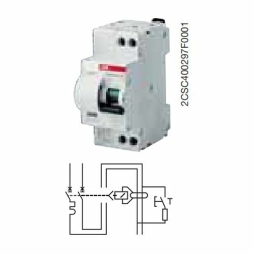 ABB EB 139 3 DS951 C25 30MA AC INTER.DIFFERENZ.6KA 1P+N
