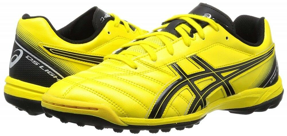 Nuevo Asics Fútbol Zapatos DS Ligero 2 Tf Sl Tst666 0490 Amarillo   Negro Con
