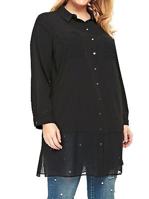 Alfani Plus Size Crossover Hem Tunic Top, Created For