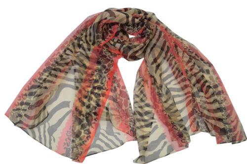 100/% Silk schawl NEU Damenschal aus Reiner Seide-Georgette 175CM x 110CM