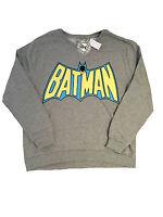 Primark Official Ladies Womens Batman Classic Logo Tv Film Jumper Sweat 20