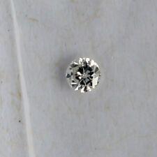 Natürlicher Diamant Je=0,04ct 2,0mm - 2,1mm D-F / SI1 Brillant 2,0 2,1