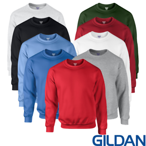 Gildan-Sudadera-Sudor-Pullover-Dryblend-Llano-activo-que-absorbe-Suave-Para-Hombres-Unisex