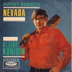 HARRY-BENSCH-Nevada-Kleine-Konigin-1966-VINYL-SINGLE-7-034-GERMANY