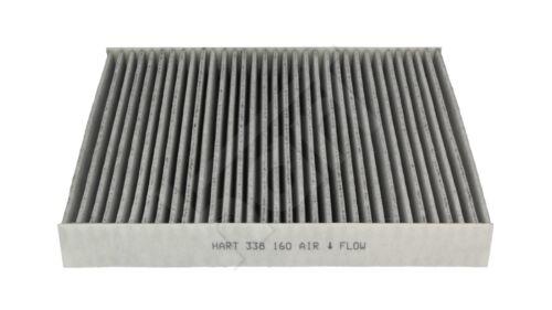 Espacio interior filtro filtro de polen con carbón vegetal activado-seat ibiza III a partir de 2002