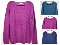 Liz Claiborne Novelty Pull Over Knit Sweater/jacket (3 Colors) Size M,l,xl