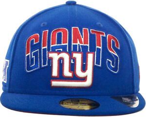 498b07e8 Details about New Era New York Giants Draft 2013 Flip Under Visor 59Fifty  Fitted Cap Hat