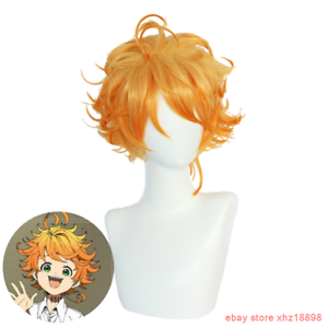 Details About Anime The Promised Neverland Yakusoku No Neverland Emma Styled Cosplay Hair Wig
