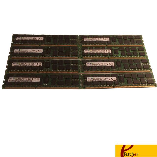 128GB DDR3 PC3-12800R ECC Reg Server Memory RAM Supermicro X9DA7 8X16GB