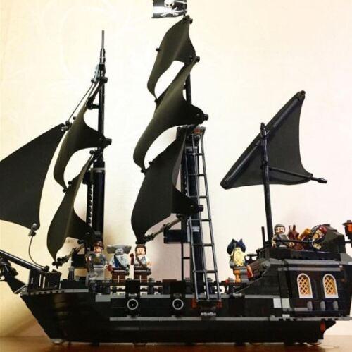 Caribbean Pirate Black Pearl Jack Mini Building Block Nanoblock 16006 b F01