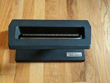 Rolodex Heavy Duty 3 Hole Paper Punch Model P 500 Made In Usa