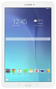 Details about Samsung Galaxy Tab E 9 6 Inch 8GB Android WiFi Tablet - White