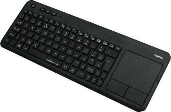 Hama Uzzano 3 1 Wireless Smart Tv Keyboard Black For Sale Online Ebay