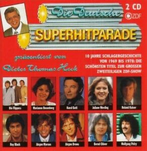 Deutsche-SUPER-Parade-1969-78-94-D-T-Heck-AP-Flippers-graha-CD-DOPPIO