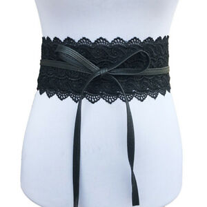waistband wedding dress women wide corset lace belt female