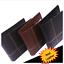 Wallet Leather Men card bifold slim Luxury Quality Cash Photo Black UK Seller