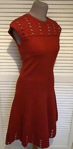 Crochet 2 Ted Red Baker Tag Zaralie Uk New 10 Dress Knit qB7IUB
