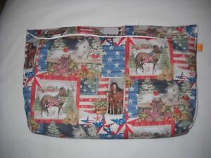 Breyer-extended-pony-pocket-pouch-traditional-classic-custom-model-horse-fabric