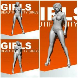55mm-1-35-Modern-Runway-Girl-Resin-Models-Soldiers-Accessories-G5I9