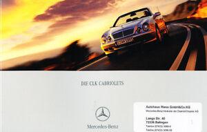 2001-Mercedes-Benz-CLK320-CLK430-German-Sales-Brochure