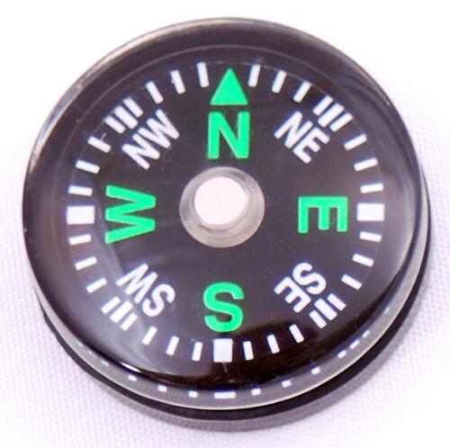 Wholesale Lot 48pc 20 mm marteaux boussoles Cadran Petit Mini survie boussole Vert