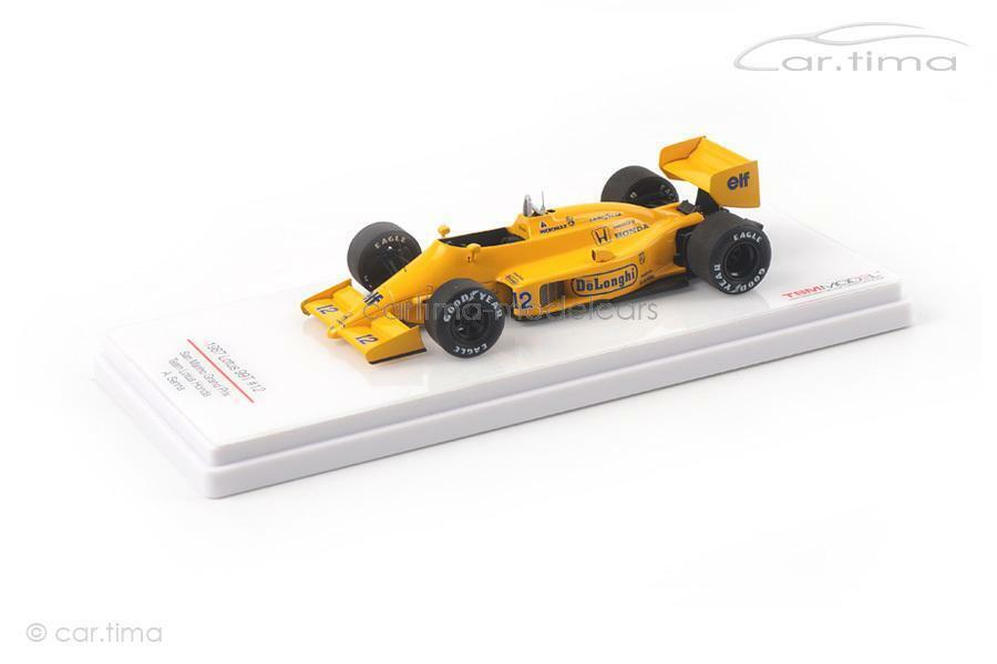 Lotus 99t GP San Marino 1987-Ayrton Senna-TSM MODEL - 1 43 - tsm164359