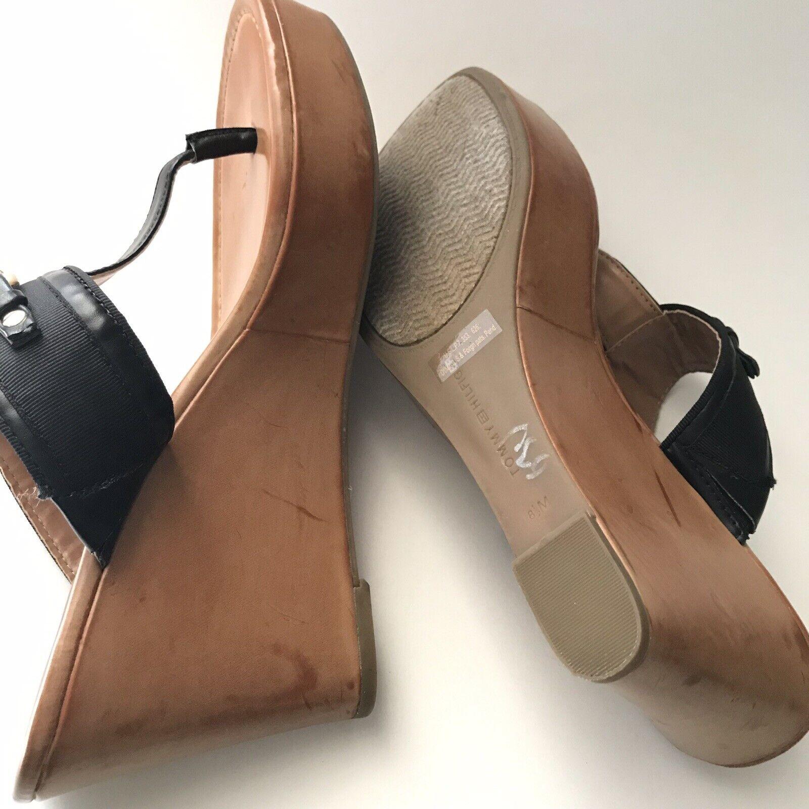 tommy hilfiger Womens Sandal Size 8.5M Melane Tho… - image 5