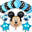 Disney-Mickey-Mouse-Birthday-Balloons-Foil-Latex-Party-Decorations-Gender-Reveal thumbnail 3