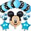 DISNEY-Mickey-Mouse-Compleanno-Palloncini-Stagnola-Lattice-Party-Decorazioni-di-genere-rivelare miniatura 3