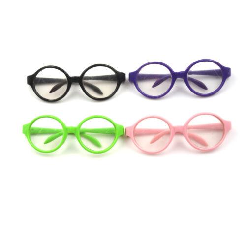 Girl Dolls Stylish Plastic glasses 18 inch Doll Accessories Baby  ER